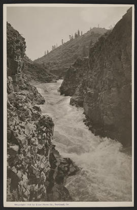 River in Canyon, Central Oregon