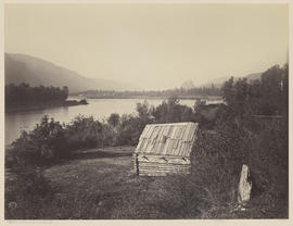 """Rapids Indian Blockhouse, Cascades."" (Mammoth 430)"