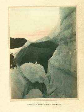 Ice cave, Collier Glacier