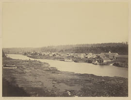 """Panorama Oregon City, from former site of Linn City."" (Mammoth 410)"