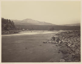 """Upper Cascades from the Oregon Side."" (Mammoth 442)"