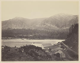 """The Upper Cascades from the Block House. Columbia River."" (Mammoth 436)"