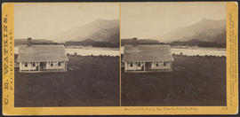 """Residence of G. Copely, Esq., Cascades, Columbia River."" (Stereograph 1256)"