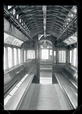 Interior of train car #78