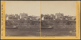 """Dalles City, Columbia River."" (Stereograph 1314)"