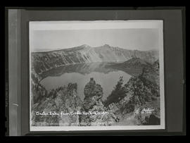 Crater Lake from Castle Rock - Oregon