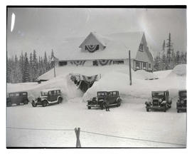 Mt. Hood Chalet during winter Government Camp, Oregon