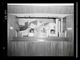 Two receptionists at desk