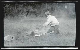 William L. Finley cooking