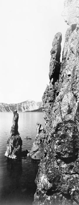 Phantom Ship, Crater Lake, circa 1907