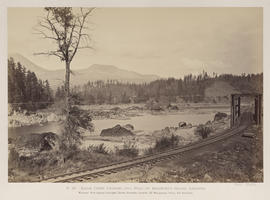 """O.10. Eagle Creek Crossing and Head of Bradford's Island, Cascades."""