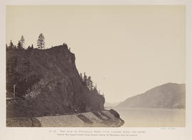"""O.25. The Foot of Mitchell's Point, View Looking Down the River."""