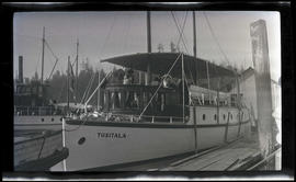 Tusitala anchored at Vancouver