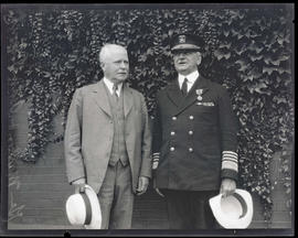 General Charles H. Martin and Admiral Robert E. Coontz