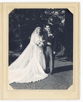 Wedding of Mary Couch Robertson and Donald Butler