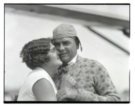 Tex and Shirley Rankin before endurance flight?