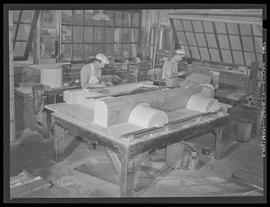 Carpenters at Commercial Iron Works, Portland