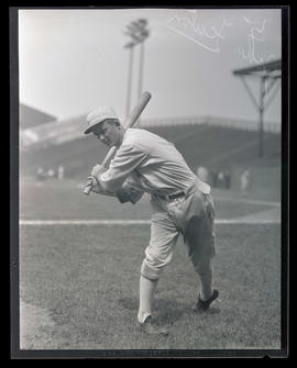 John Fenton, baseball player for Portland