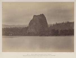 """O.4. Castle Rock, Columbia River, Oregon."""