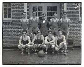 Young men's basketball team