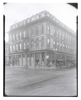 St. Charles Hotel building, Front and Morrison, Portland