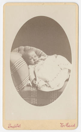 Joseph Buchtel portrait of an unidentified baby