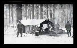 Hunting Camp on the Upper Willamette