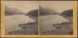"""View on the Columbia River from the Middle Block House."" (Stereograph 1261)"