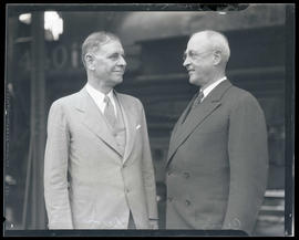 Secretary of War George Henry Dern and Major General Malin Craig