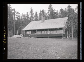 Timothy Lake, exterior of Portland General Electric lodge