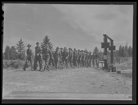 Soldiers at Vancouver Barracks