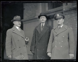 Retired Brigadier General Joseph P. O'Neil, Brigadier General Stanley H. Ford, and Colonel H. A. ...