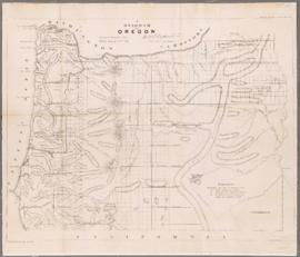 A Diagram of Oregon (1859)