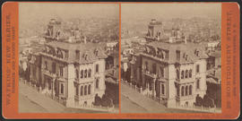 """View from the Residence of Chas. Crocker, Esq., S. F. California St."" (Stereograph 3641)"
