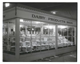 Dairy products exhibit at livestock show
