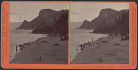 """Mitchell's Point, Columbia River, Oregon."" (Stereograph E16)"