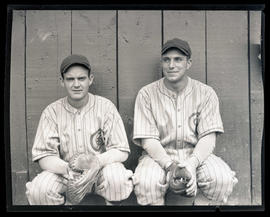 Baseball players, possibly for Sacramento