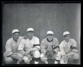 Baseball players, possibly for Portland