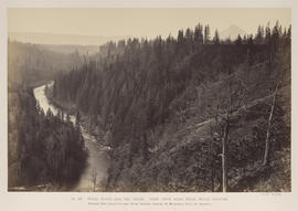 """O.26. Hood River and Mt. Hood. View from Near Hood River Station."""