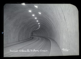 Tunnel - Willamette Highway - Oregon