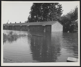 Flooded Building, Vanport Flood
