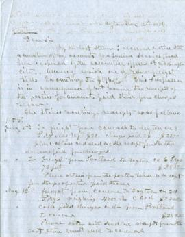Copy of letter to A Jamisen