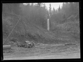 Latourell Falls, after logging