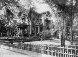 H. W. Corbett house, SW 5th and SW Yamhill, Portland, Oregon, circa 1907