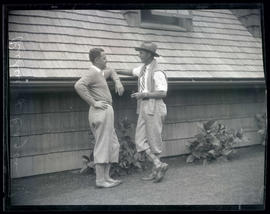 Rudie Wilhelm and Eagan, golfers