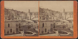 """View from the Residence of Chas. Crocker, Esq., S. F. California St."" (Stereograph 3638)"