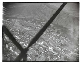 Aerial view of Roseburg, Oregon