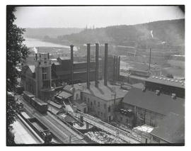 Hawley Pulp and Paper mill, Oregon City, Oregon
