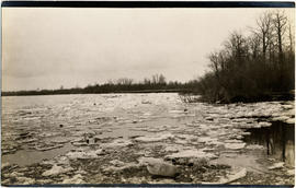 Ice on river or lake, Claude Ewing Rusk expedition