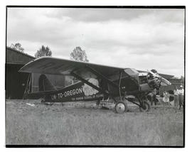 Rankin brothers' airplane On-to-Oregon